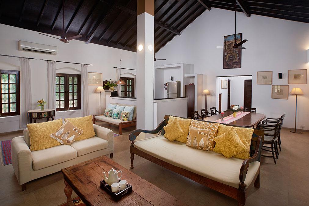 Villa Venus Sitting room