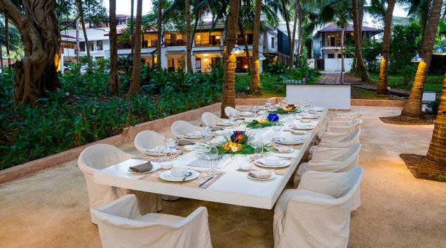 Main Villa Dinning area