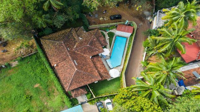 Villa Venus Ariel View